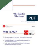 AICA SME 2.0 Kick Off Meeting Presentation