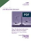 Quality Manual Laboratories 2