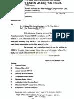 Karnataka Small Inds Mkt Corpn Ltd 2005