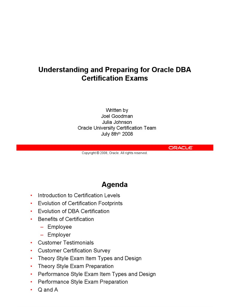 Dba certification oracle database professional certification xflitez Image collections