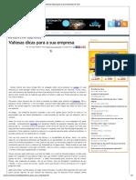 Valiosas Dicas Para a Sua Empresa _ E-Civil