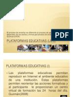 Presentacion Plataformas Educativas LMS