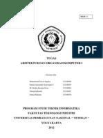 Tugas AOK (Aljabar Boolean, Gerbang Logika, Rangkaian Sekuensial Dan Kombinasional)