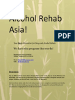 Alcohol Rehab Asia | Thailand Drug and Alcohol Rehab Priciples and Treatments