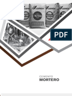 Mortero_baja Cemex Rendimiento Ficha Tecnica
