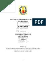 CCE- Teachers Manual English STD 6