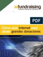 ¿CÓMO USAR INTERNET PARA ATRAER A GRANDES DONACIONES?