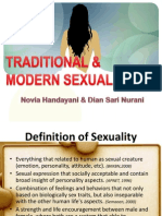 Traditional & Modern Sexuality