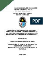 Proyecto de Investigacion - Fidencio Carrera 2011