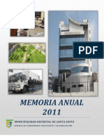 Memoria Anual _2011