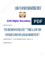 Law of Linear Momentum