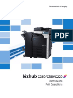 Bizhub c360,280,220 User Manual