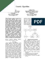 Genetic Algorithm - Aaditya Pare