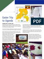 Hopwood Hall students visit Uganda