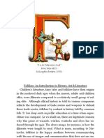 Folklore an Introduction to History, Art & Literature