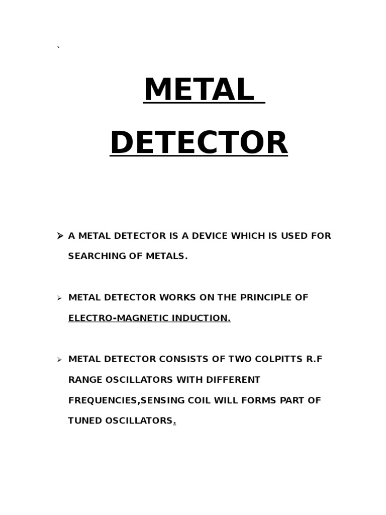 Metal Detector Bfo Circuit 1534222175v1