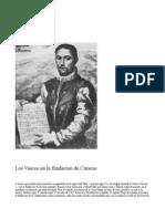 Los Vascos en La Fundacion de Caracas - Vicente Amezaga Aresti