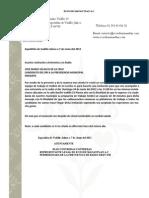 Invitacion Jose Maria Velasco de La Cruz