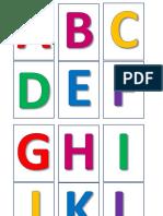 ABC - Letras Maiúsculas