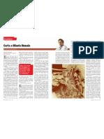 Gustavo Gorritit - Carta a Ollanta Humala