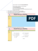 Testwalaindia Registration