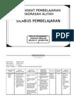 SILABUS Aqidah Akhlak  MA Kelas X, 1-2.doc