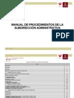 Manual de Procedimientos Subdireccion Admva[1]