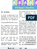 Remerciements Philippe Neuffer