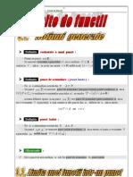 Limite de Functii - Clasa a 11-A-1