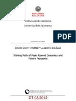 Documento de trabajo regreso de sendero en Perú USAL