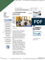 08-06-12 Firme demanda por tarifa eléctrica justa
