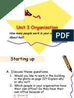 Unit 3 Organisation