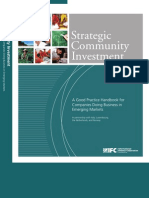 IFC Handbook Sustainable Investments to Emerging Market