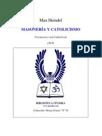 Max Heindel - Masoneria y Catolicismo