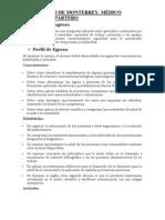 UNIVERSIDAD DE MONTERREY. MÉDICO CIRUJANO Y PARTERO