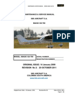 2-Magic GS-700 LSA (2 Seats) Maintenance & Service Manual (Rev 002. 20 October 2011)