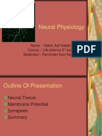 Neural Physiology