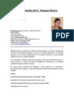 CV Lic. Alejandra Vázquez