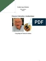 Ensayos Literarios y traducciones Tomo 1 OBRAS SELECTAS