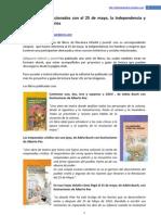 25 de mayo - selección de libros de LIJ