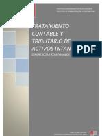 Tratamiento Contable y Tributario de Activos Intangibles