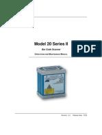 Accu-Sort Model 20 User Manual