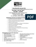 Revised Benefits Fair Flier-BW June 28 2012