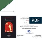 """Invitación a la presentación del libro """"Decir noche"""", de Elisa Rodríguez Court - Ed. Eutelequia"""