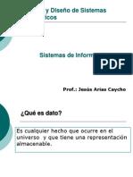 ADSI -Tutoria 01 - Conceptos Generales - Sistemas de Informacion