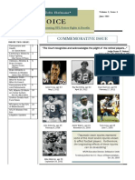 The Voice - NFL Retiree Newsletter, Vol 1, Issue 4