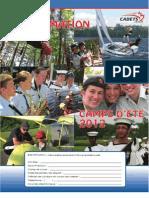 Cahier d'information camps d'été 2012 - URSC