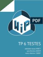 #Entrega06 - Testes WIP
