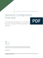 Configuring Hub and Spoke Vpns Using Nhtb