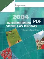 Informe Mundial Contra Las Drogas